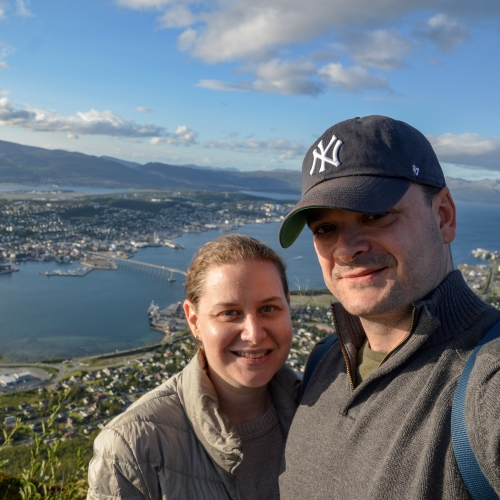 Sarah and Justin Poitras run an accessible travel blog. Last year they visited Tromsø in Summer.
