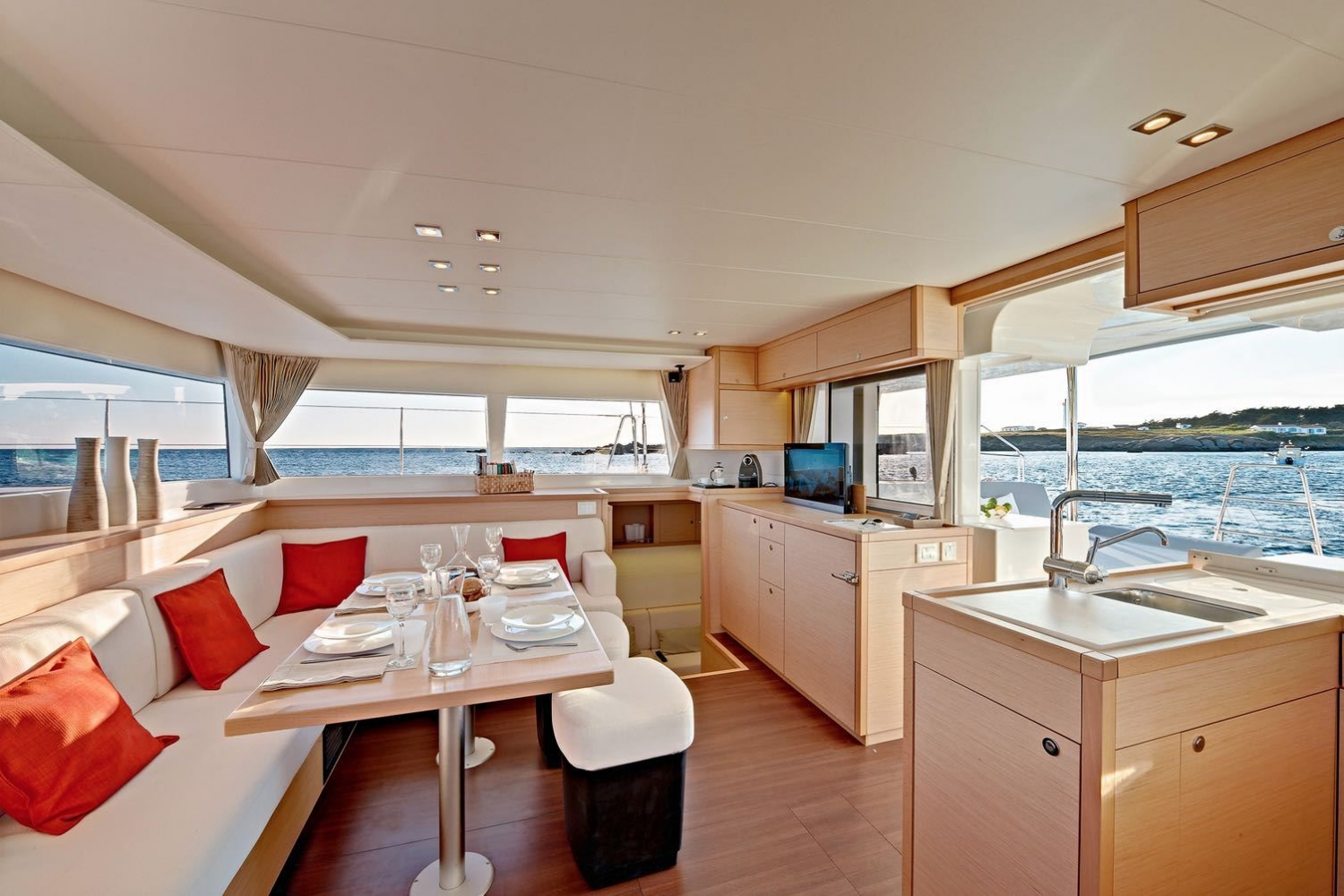 Arctic Princess interior