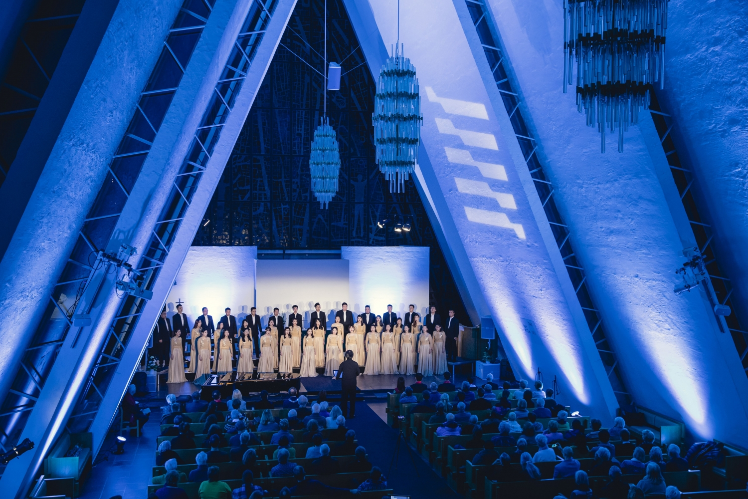 a concert in the arctic cathedral