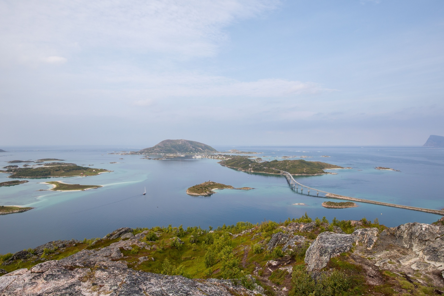 View over Sommarøy