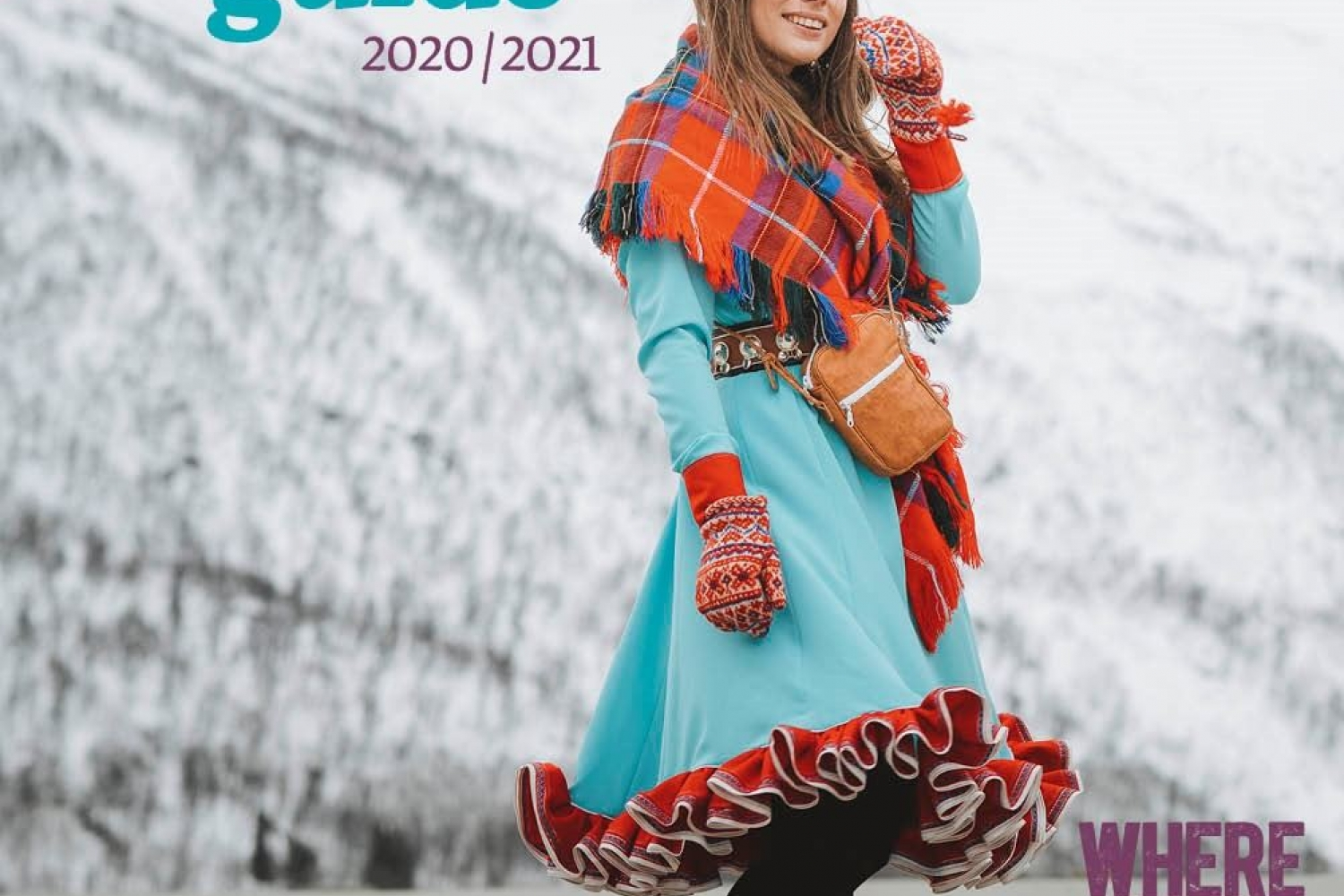 Tromsø Guide with Sami girl cover