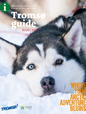 Tromsø guide with husky-cover
