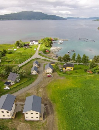 Drone photo of Jæger Adventure Camp